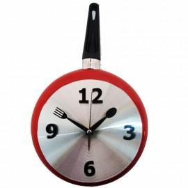 Tava Saat Kırmızı