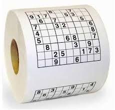 Tuvalet Kağıdı Sudoku