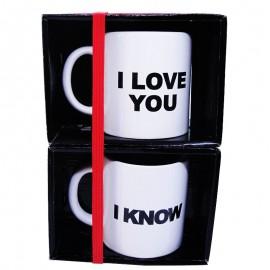 Tekli I Love & I Know Mug