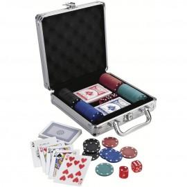 100'lü Poker Seti