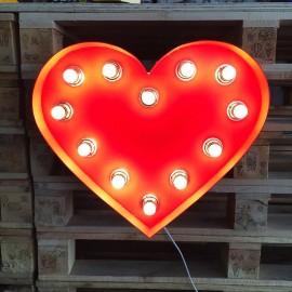 Kalp Işık Lamba