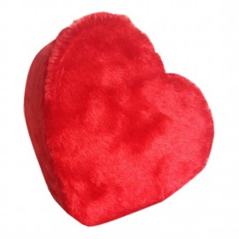 Kalpli Peluş Kutu Kırmızı