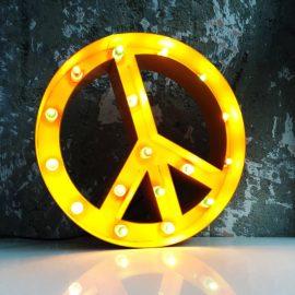 Işıklı Barış İşareti