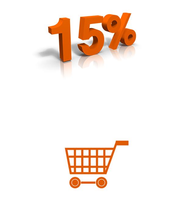 %15 İNDİRİM KODUNUZ